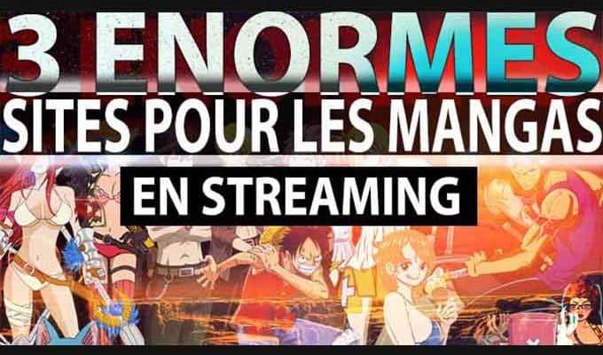 top site de streaming pour les mangas